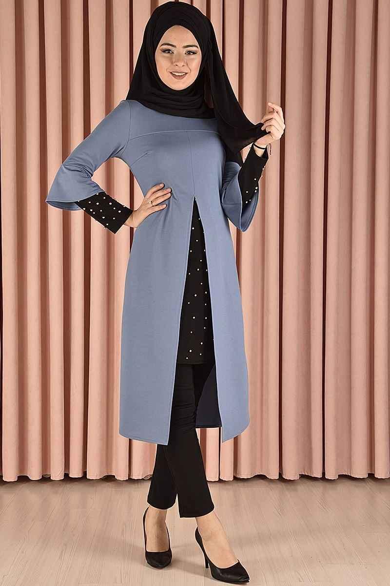 Modamerve İncili Tunik Modelleri