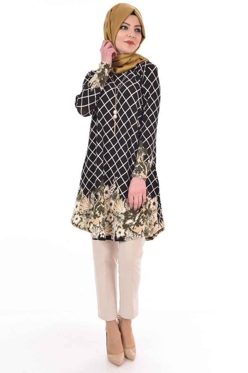 Modamerve Desenli Tunik Modelleri