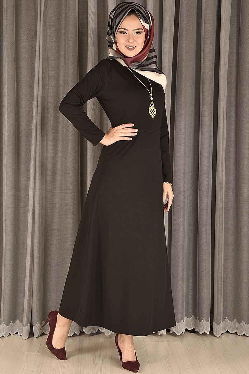 Modamerve Günlük Tesettür Elbise Modelleri