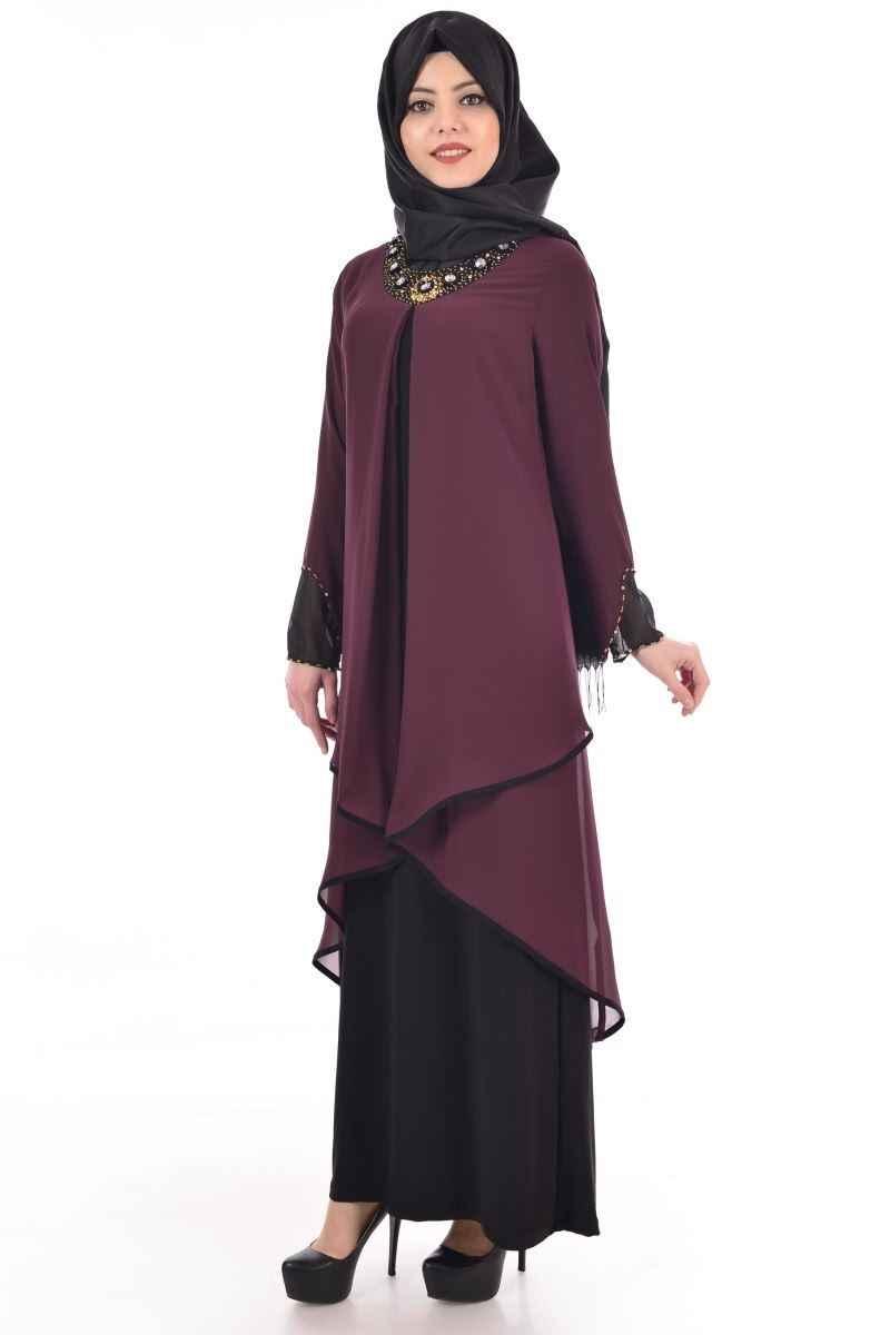 Modamerve Tesettür Tunikli Elbise Modelleri