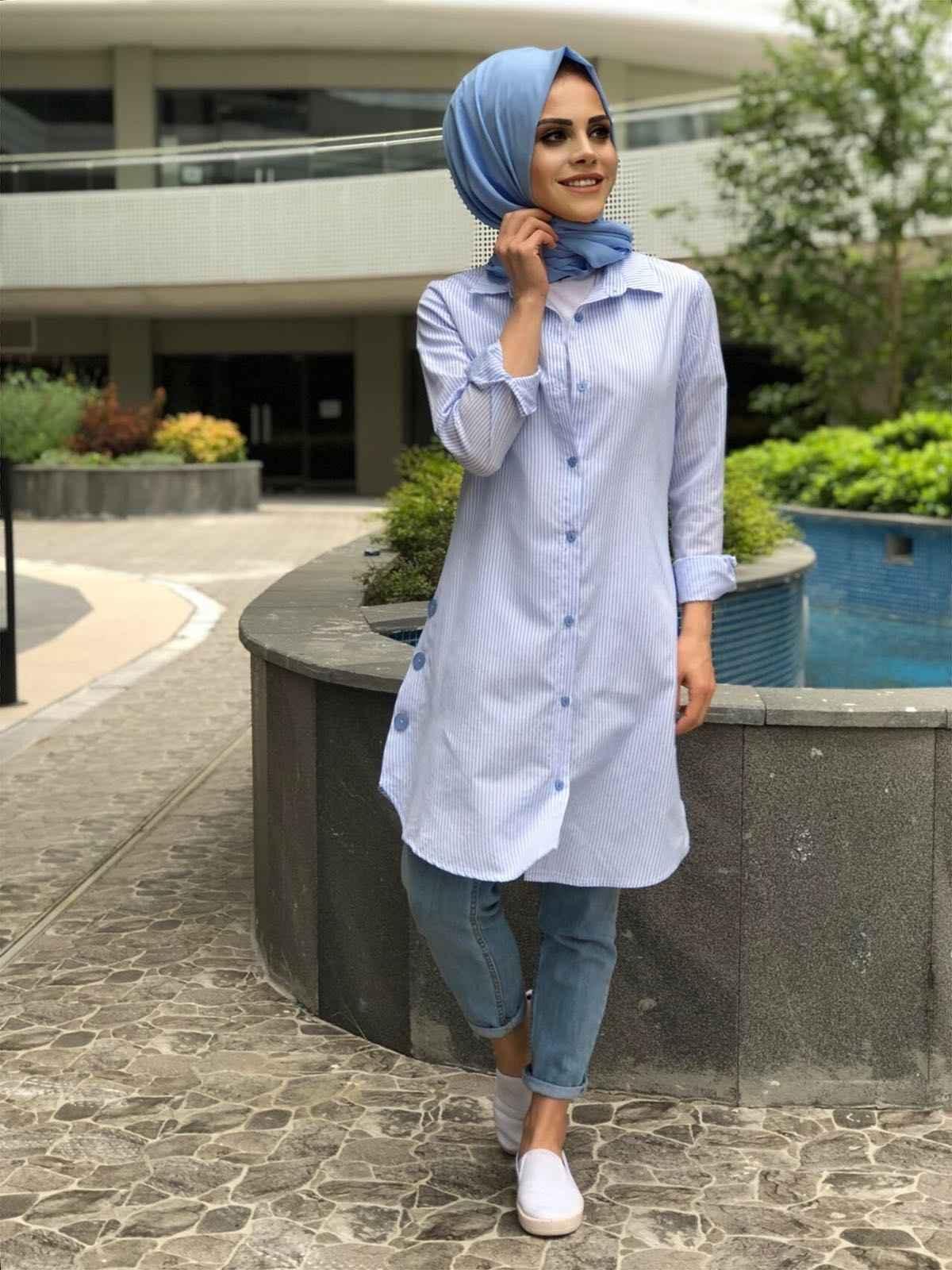 Modaonur Düğmeli Tunik Gömlek Modelleri