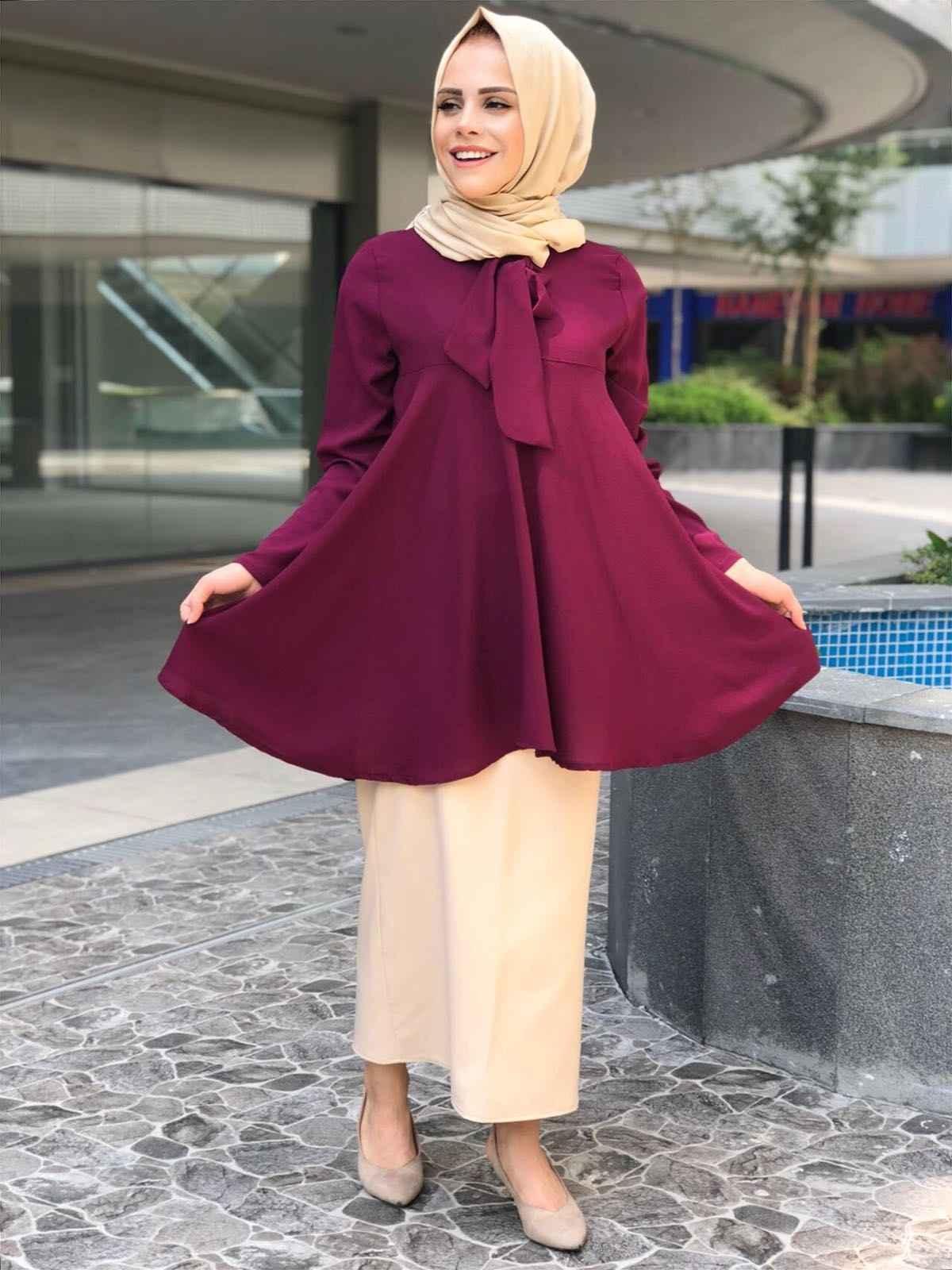 Modaonur En Güzel Tesettür Bluz Modelleri