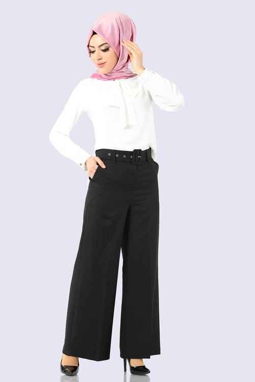 Modaselvim Yüksek Bel Tesettür Pantolon Modelleri
