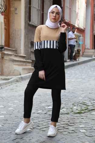 Modasena Günlük Tesettür Spor Tunik Modelleri