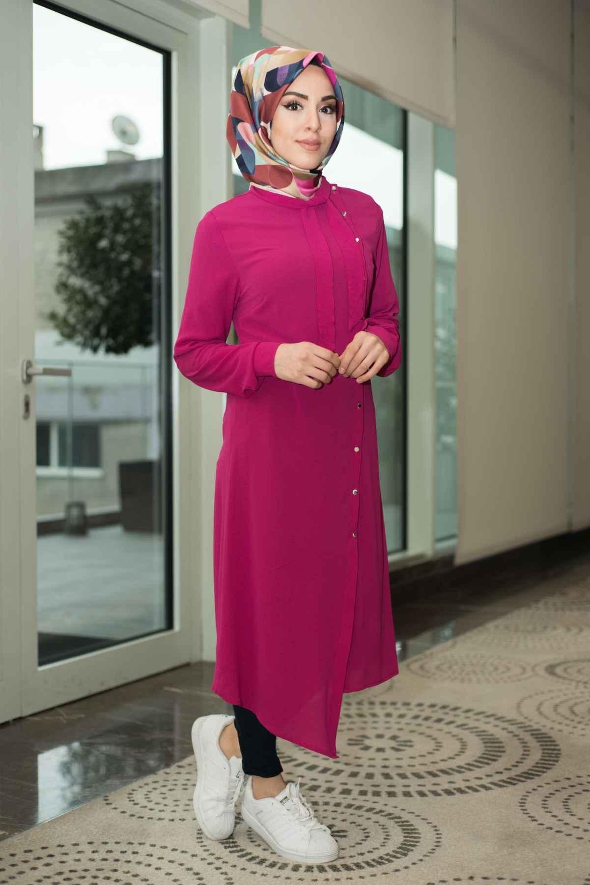 Modasena Günlük Tesettür Tunik Modelleri