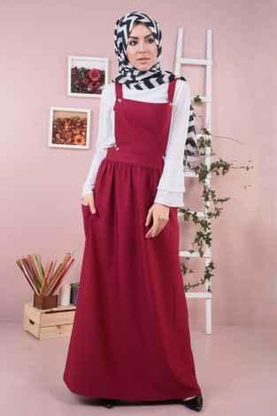 Modasena Tesettür Salopet Elbise Modelleri