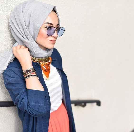 Modern Günlük Tesettür Kıyafet Kombinleri