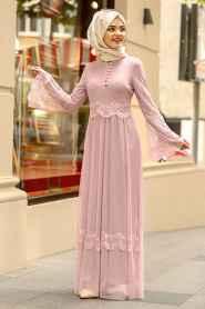Nayla Collection Şık Tesettür Söz Elbisesi Modelleri