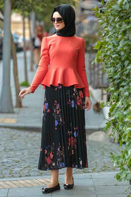 Nayla Collection En Güzel Çiçekli Etek Modelleri
