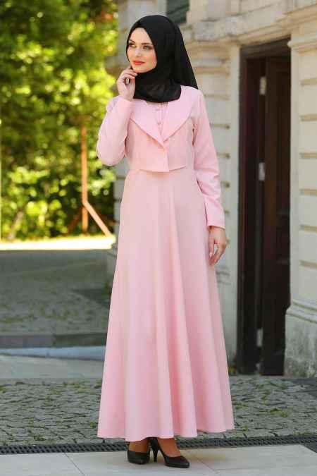 Neva Style Tesettür Ceketli Elbise Modelleri
