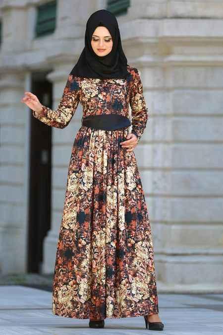 Neva Style Tesettür Renkli Elbise Modelleri