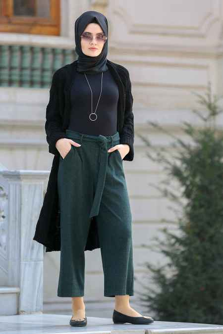 Neva Style Yüksek Bel Tesettür Pantolon Modelleri