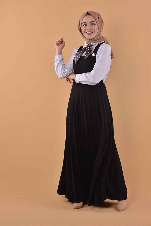 Nurhira Tesettür Salopet Elbise Modelleri