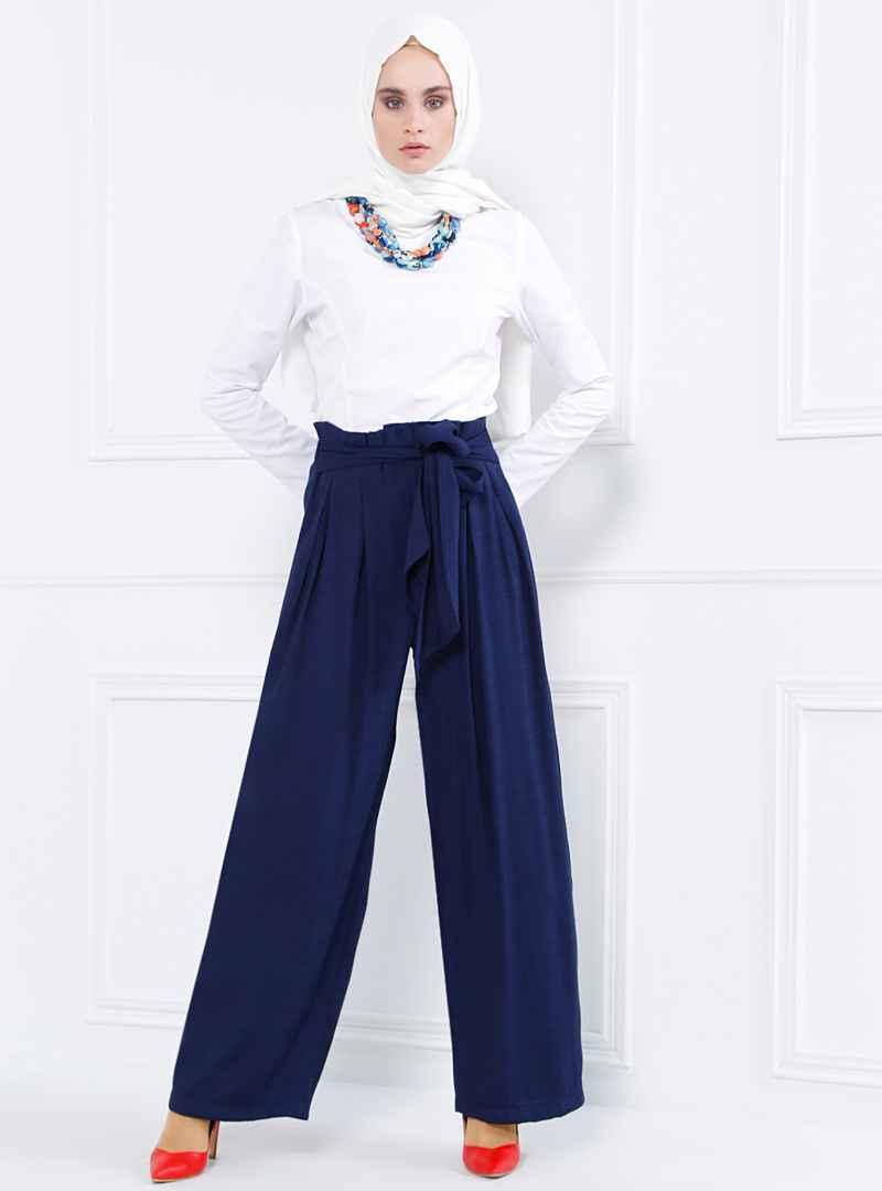 Refka Yüksek Bel Tesettür Pantolon Modelleri