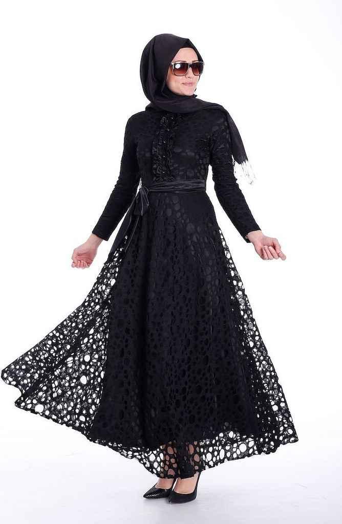 Sefamerve En Güzel Tesettür Elbise Modelleri