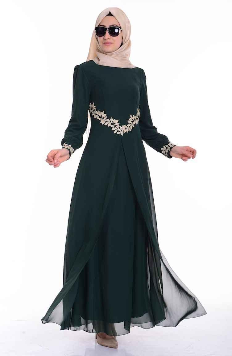 Sefamerve Tesettür Şık Elbise Modelleri