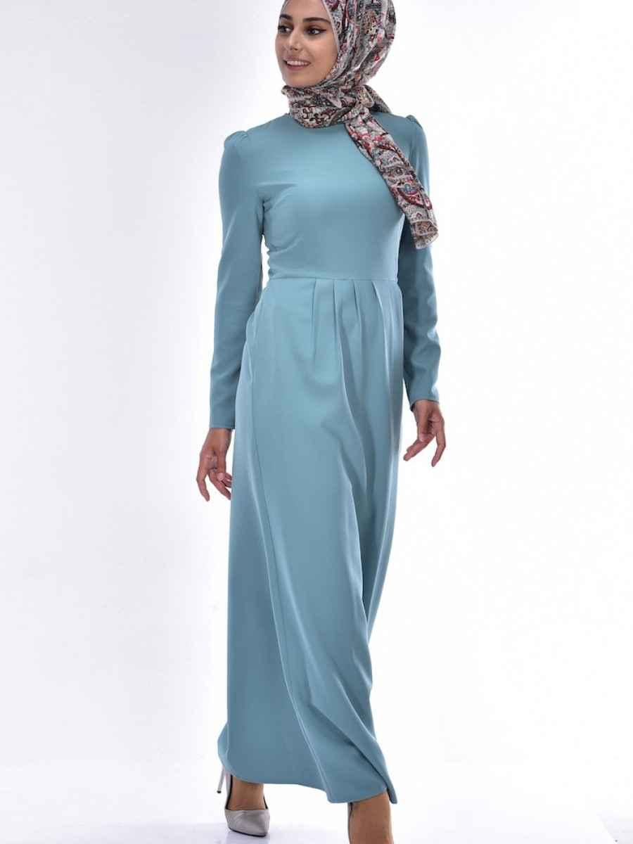 Sefamerve Tesettür Şık Kalem Elbise Modelleri
