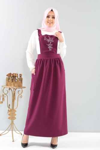 Tesettür Dünyası Salopet Elbise Modelleri