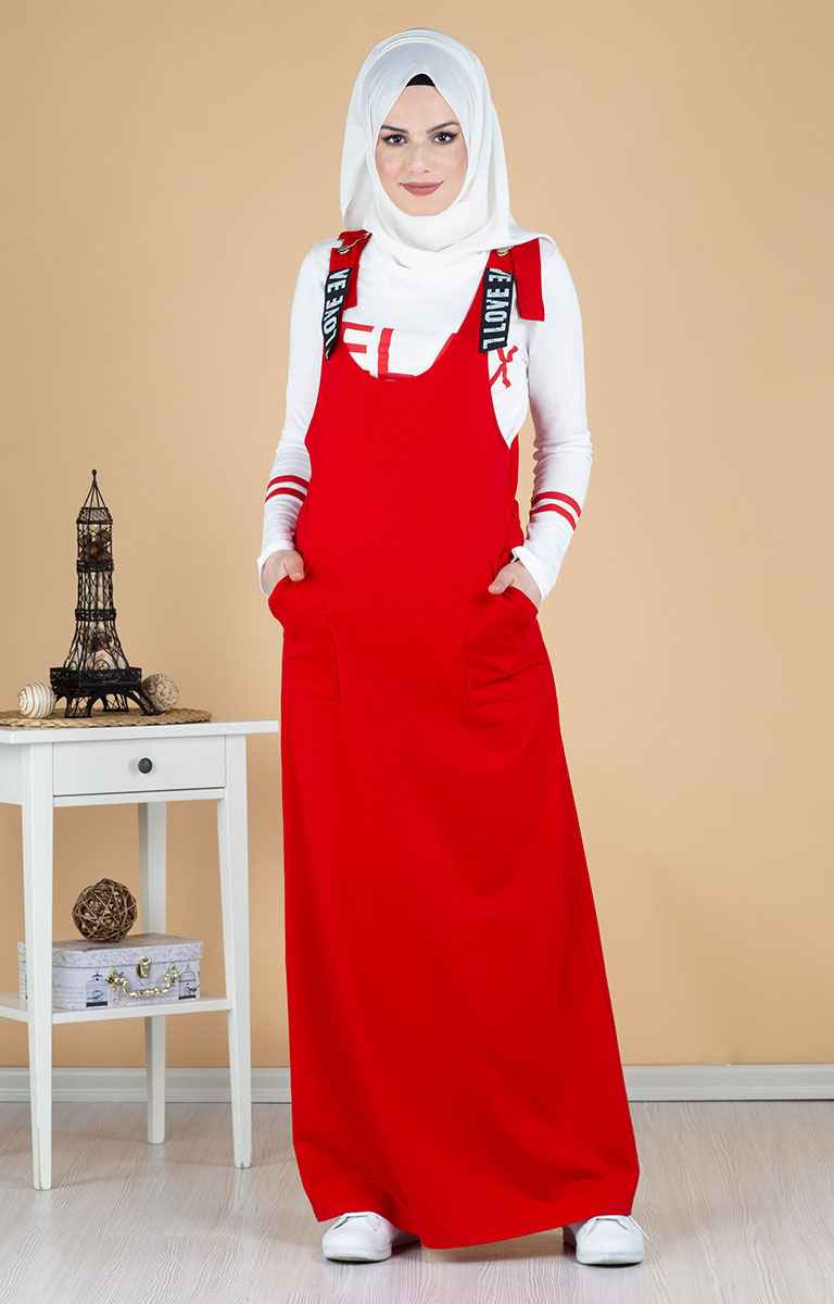 Tesettür Pazarı Şık Salopet Elbise Modelleri