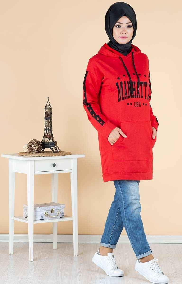 Tesettür Pazarı Günlük Tunik Modelleri