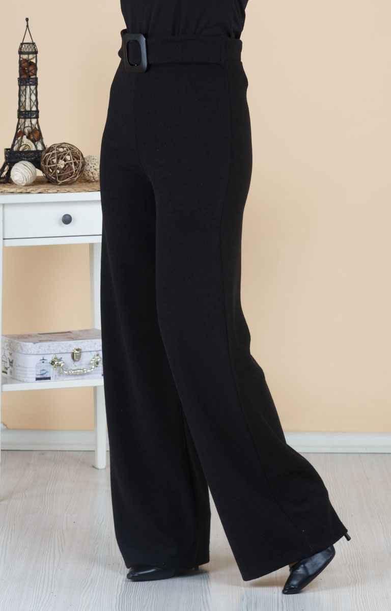 Tesettür Pazarı Yüksek Bel Kot Pantolon Modelleri