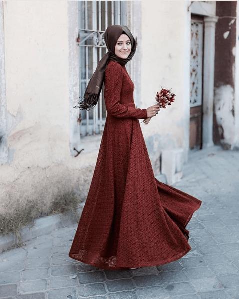 Tesettür Söz Elbisesi Modelleri