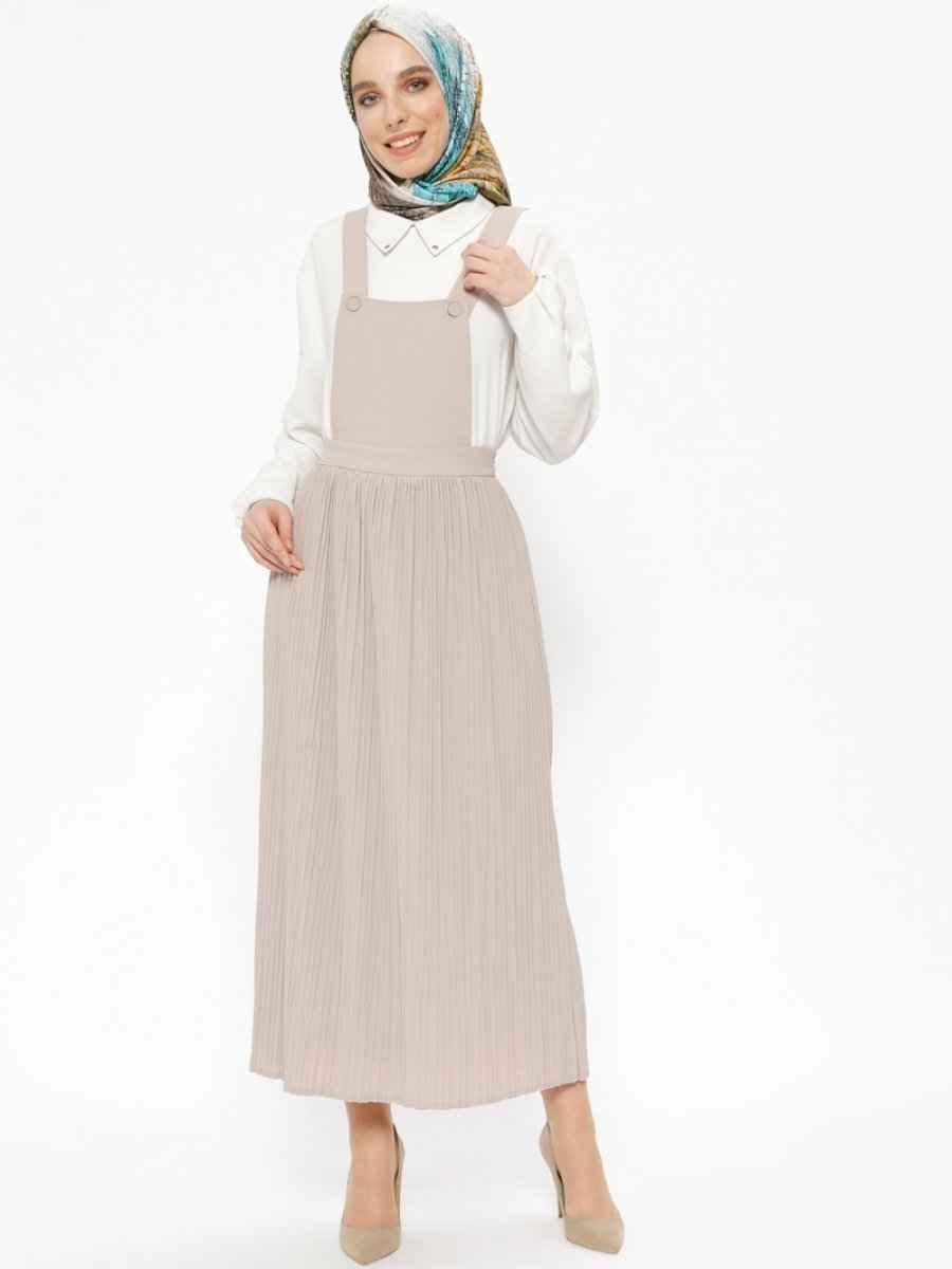 Tuğba Tesettür Salopet Elbise Modelleri