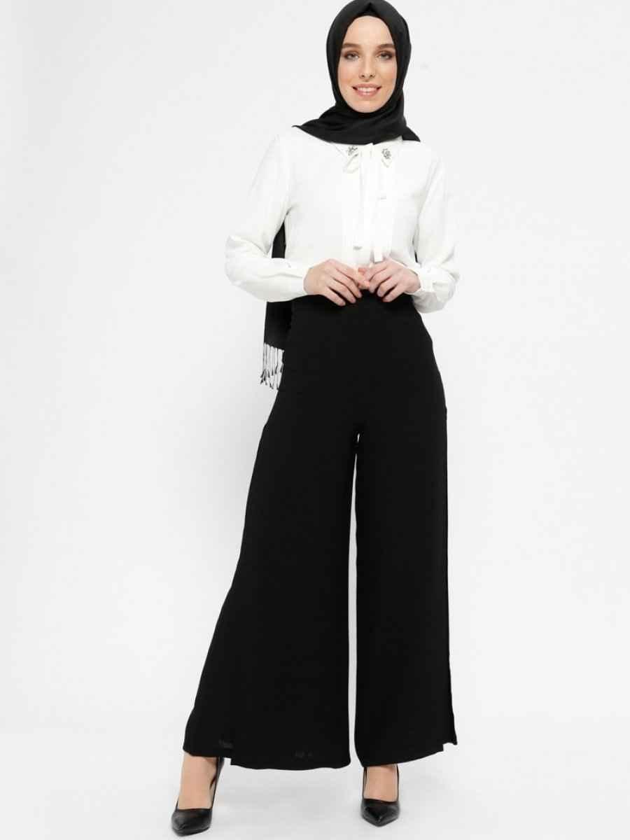 Tuğba Yüksek Bel Tesettür Pantolon Modelleri