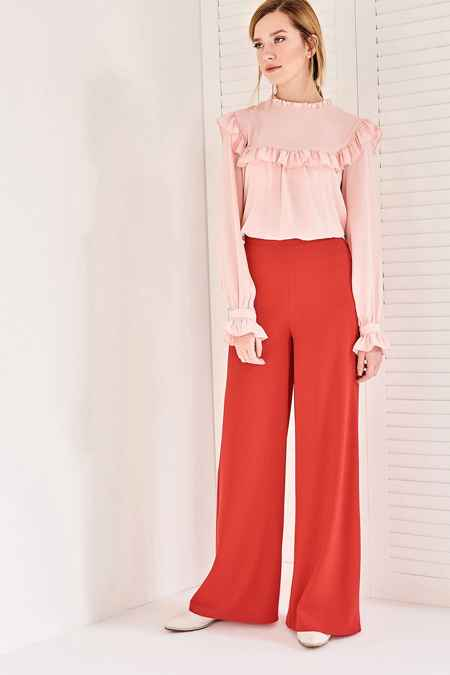 Vavist Yüksek Bel Pantolon Modelleri