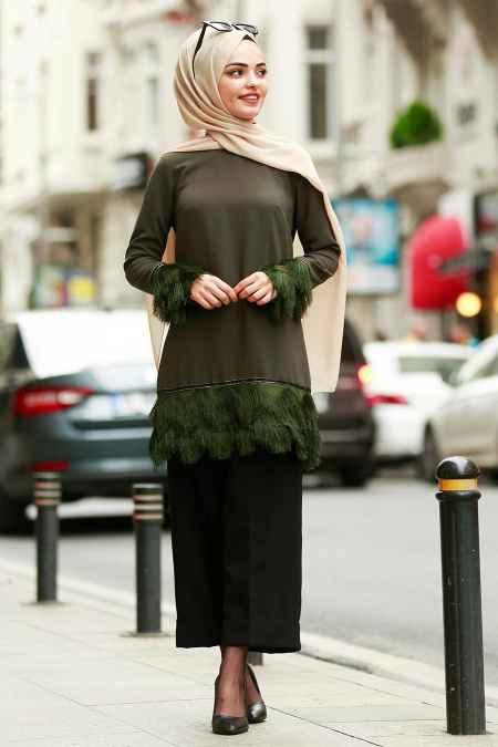 Nayla Collection En Şık Püsküllü Tesettür Tunik Modelleri