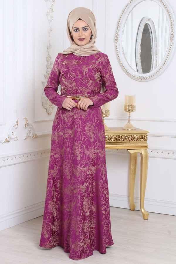Neva Style Desenli Abiye Elbise Modelleri