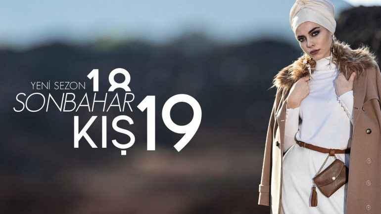 2018-2019 Alvina Sonbahar Kış Tesettür Giyim Modelleri