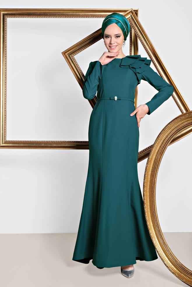 2018-2019 Alvina Tesettür Abiye Modelleri