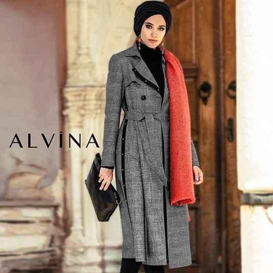 2018-2019 Alvina Tesettür Dış Giyim Modelleri