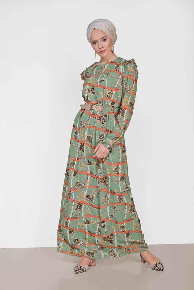 2018-2019 Alvina Tesettür Elbise Modelleri