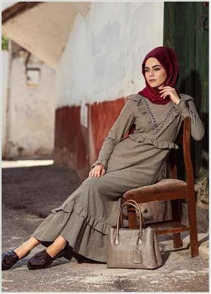 2018-2019 Alvina Tesettür Giyim Modelleri