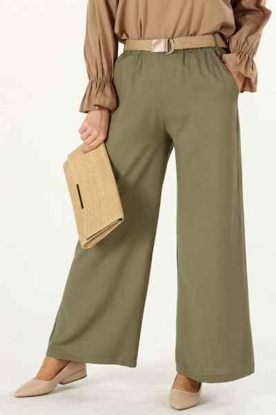 Allday Şık Tesettür Bol Pantolon Modelleri