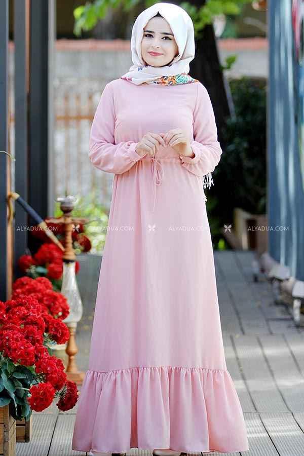 Alyadua Tesettür Boydan Elbise Modelleri