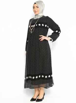 Büyük Beden Modern Tesettür Kıyafet Modelleri