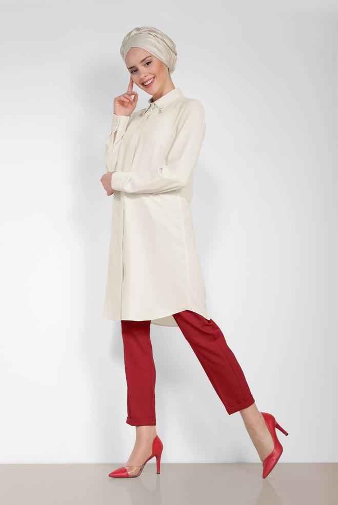 En Güzel 2018-2019 Alvina Tesettür Kıyafet Kombinleri