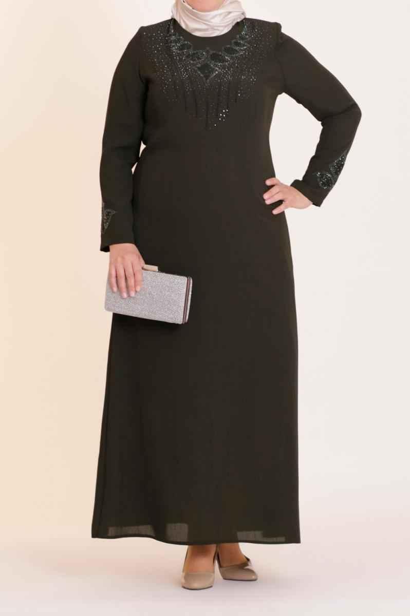 Eslina Moda Büyük Beden Tesettür Kıyafet Modelleri