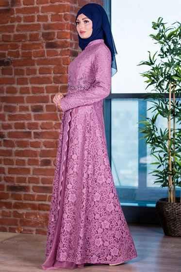 Patırtı Tesettür Abiye Elbise Modelleri