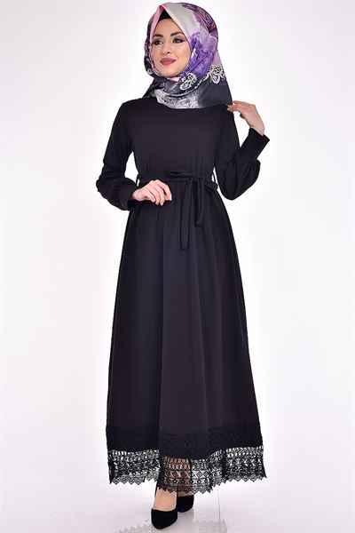 Modamerve Tesettür Boydan Elbise Modelleri