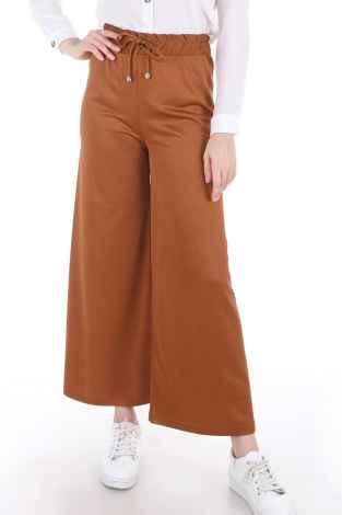 Modasena Modern Tesettür Bol Pantolon Modelleri