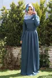 Modasena Tesettür Boydan Elbise Modelleri