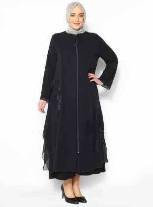 Modern Büyük Beden Tesettür Kıyafet Modelleri