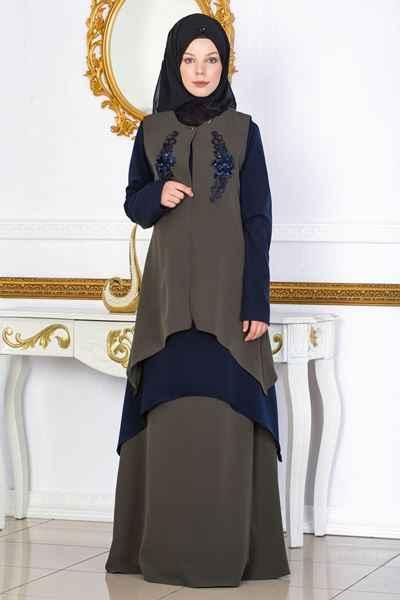 Sedanur Büyük Beden Tesettür Kıyafet Modelleri