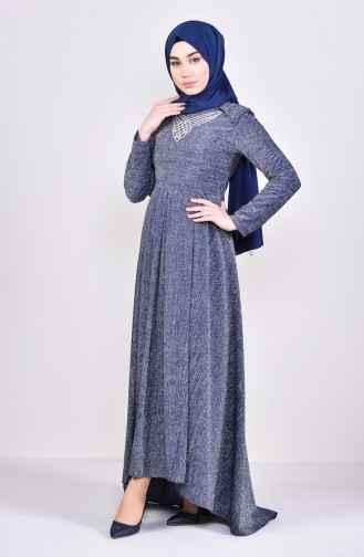 Sefamerve Simli Tesettür Elbise Modelleri