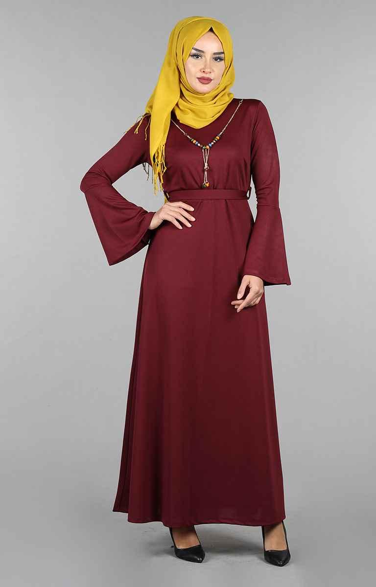 Tesettür Pazarı Boydan Elbise Modelleri