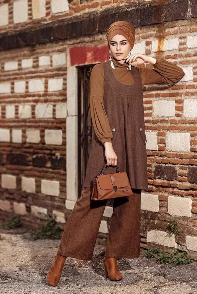 Alvina En Şık Tesettür Jile Tunik Modelleri